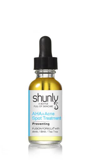 AHA + Acne Spot Treatment Shunly Skincare