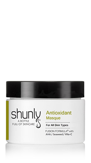 Anitoxidant Masque, a Fusion Formula blend from Shunly Skincare